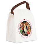 ALICE_CRAZY_PINK copy Canvas Lunch Bag