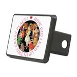 ALICE_CRAZY_PINK copy Rectangular Hitch Cover