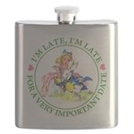 alice RABBIT im lateMA_GREEN copy Flask