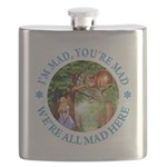 ALICE CAT IM MAD YOURE MAD_BLUE copy Flask