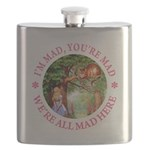 ALICE CAT IM MAD YOURE MAD_PINK copy Flask