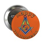 Masonic Halloween Button