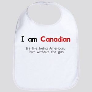 I am Canadian Bib
