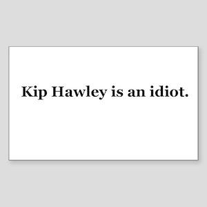 Kip Hawley Rectangle Sticker