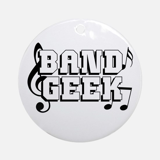 Band Geek Ornament (Round)
