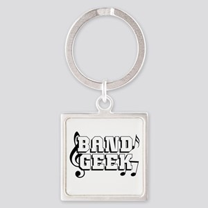 Band Geek Square Keychain