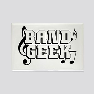 Band Geek Rectangle Magnet