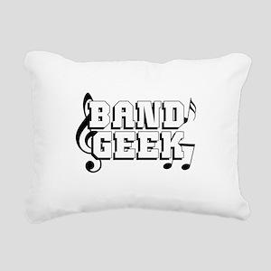 Band Geek Rectangular Canvas Pillow