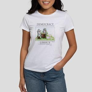 Democracy & Liberty Women's T-Shirt