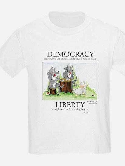 Democracy & Liberty Kids T-Shirt