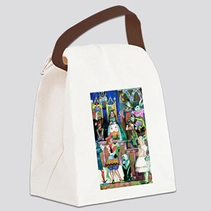 Alice in Wonderland-1 Canvas Lunch Bag