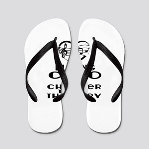 Cello Is Cheaper Than Therapy Flip Flops