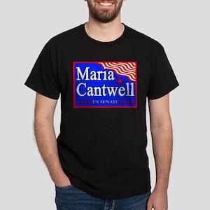 WA State Maria Cantwell US Senate Dark T-Shirt