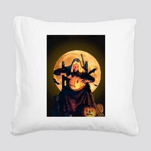 OLD WITCH_FINAL10x14 Square Canvas Pillow