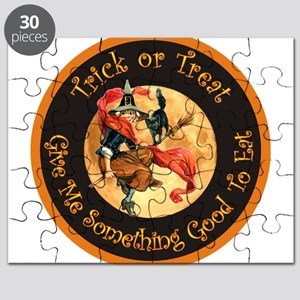 Witch Give Me Something Good to eat copy Puzzl