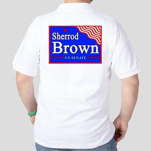 Ohio Sherrod Brown US Senate Golf Shirt