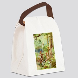 book of gnomes005_VERT2 Canvas Lunch Bag