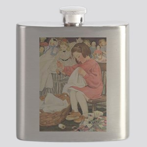 A Childs Book Of Old Verses004 Flask