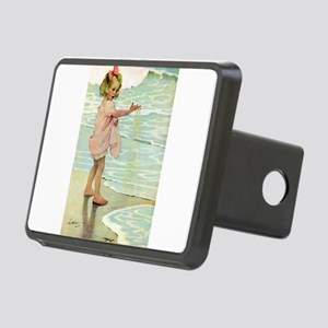 By The Ocean Rectangular Hitch Cover