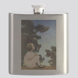 A Childs Book Of Old Verses011 Flask