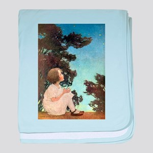 A Childs Book Of Old Verses011 baby blanket