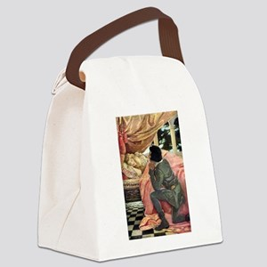 A childs book of stories018 Canvas Lunch Bag