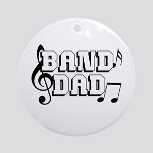 Band Dad Ornament (Round)