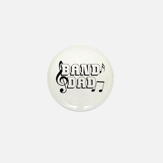 Band Dad Mini Button