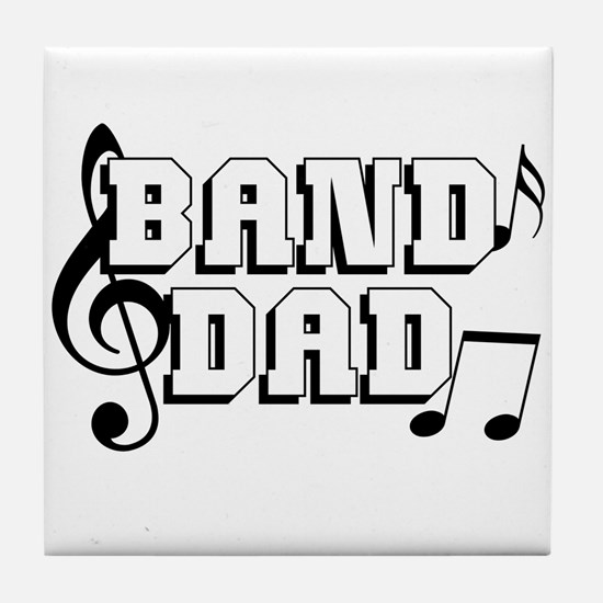 Band Dad Tile Coaster