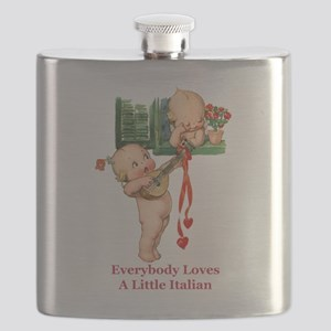 Everyone Loves a Little Italian Flask