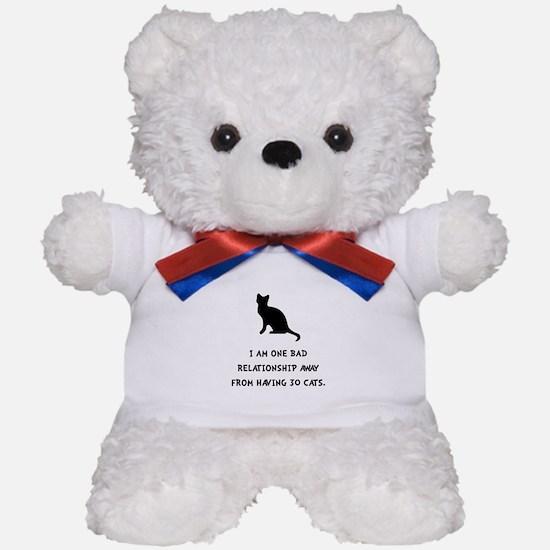 Bad Relationship Teddy Bear