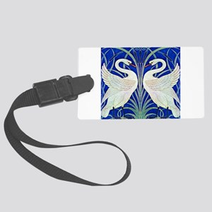 THE SWANS Large Luggage Tag