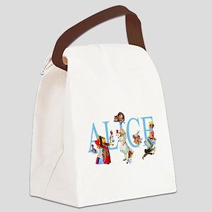 ALICE _special_FINALxx copy Canvas Lunch Bag