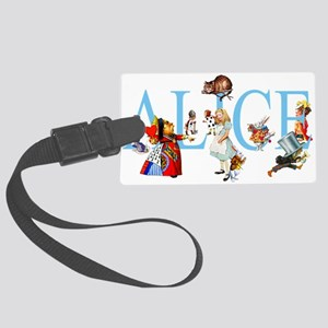 ALICE _special_FINALxx copy Large Luggage Tag