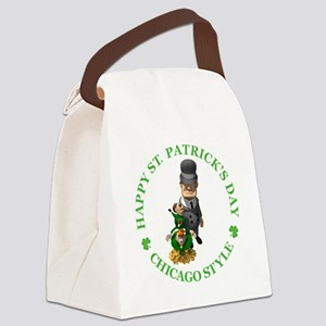 2-IRISH chicago style 2 copy Canvas Lunch Bag