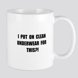 Clean Underwear Mug