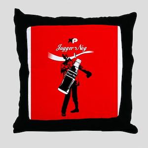 Reach for Jugger-nog tonight Throw Pillow