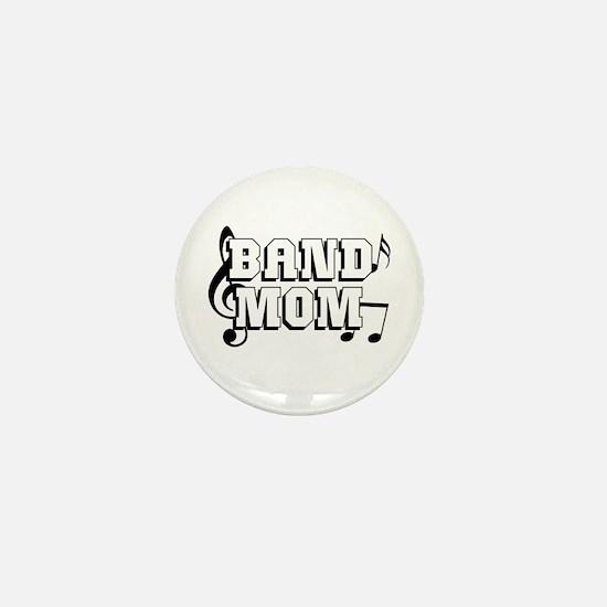 Band Mom Mini Button