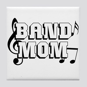 Band Mom Tile Coaster