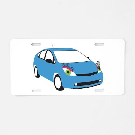 Tranny Prius Aluminum License Plate