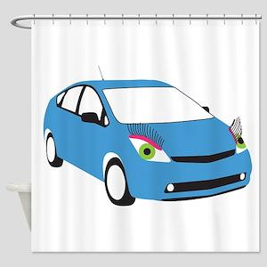 Tranny Prius Shower Curtain