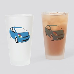 Tranny Prius Drinking Glass