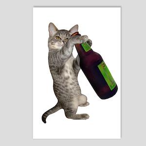Cat Beer Postcards (Package of 8)