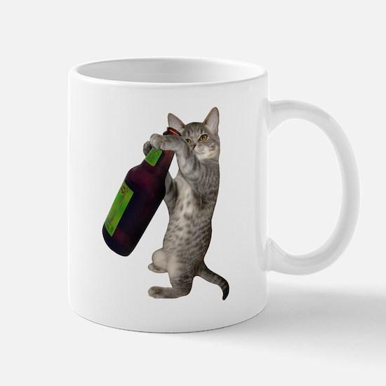 Cat Beer Mug