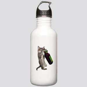 Cat Beer Stainless Water Bottle 1.0L