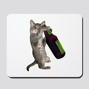 Cat Beer Mousepad