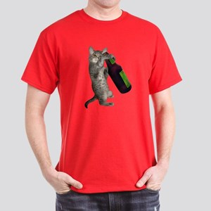 Cat Beer Dark T-Shirt