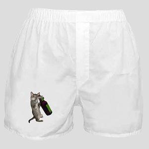 Cat Beer Boxer Shorts
