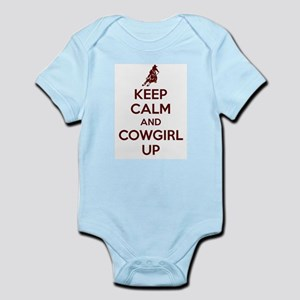 Keep Calm And Cowgirl Up Body Suit