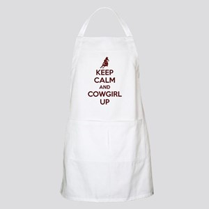 Keep Calm And Cowgirl Up Apron